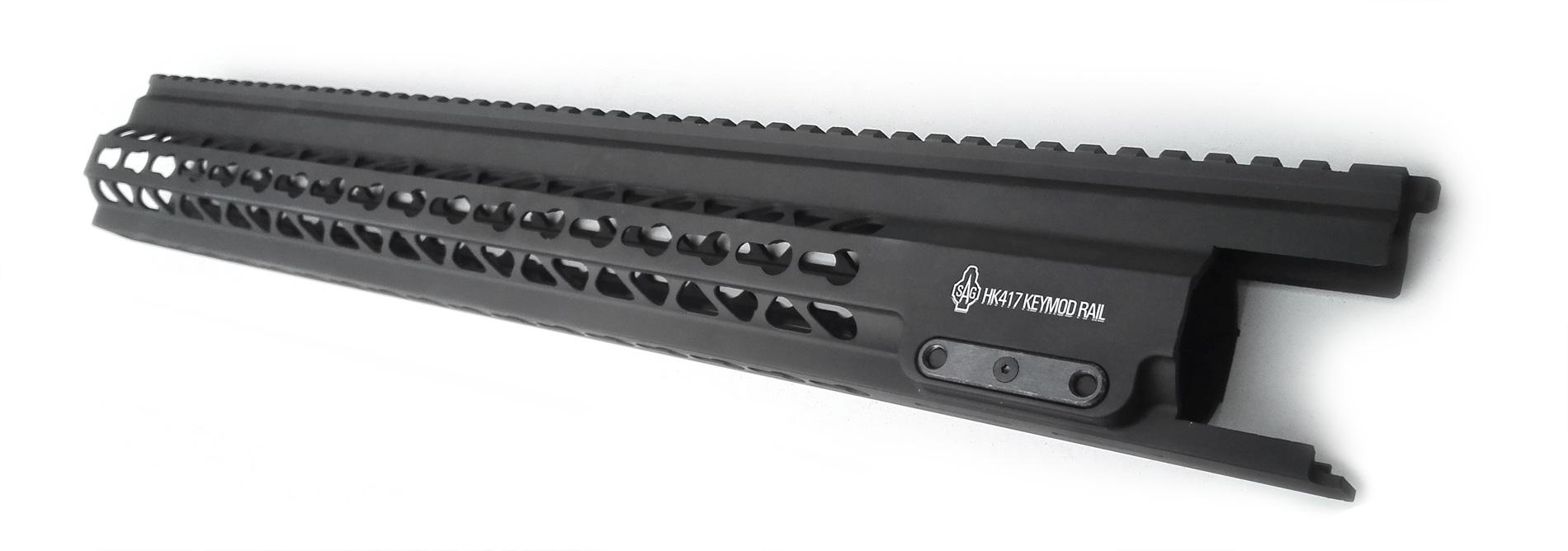 HK417 handguard by SAG